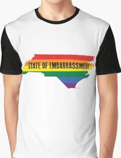 North Carolina HB2 Embarrassment Graphic T-Shirt