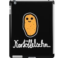 Kartöffelschn (Weiß) iPad Case/Skin