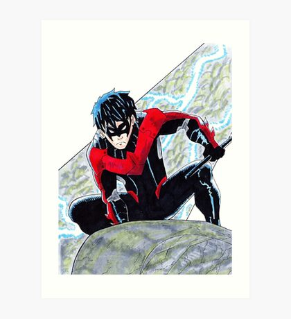 Nightwing Art Print