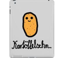 Kartöffelschn iPad Case/Skin
