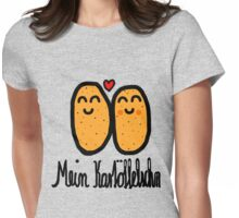 Mein Kartöffelschn Womens Fitted T-Shirt