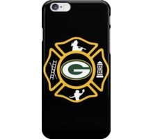 Green Bay Fire - Packers Style iPhone Case/Skin