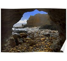The Cave - Aireys Inlet Poster