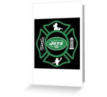 FDNY - Jets Style Greeting Card