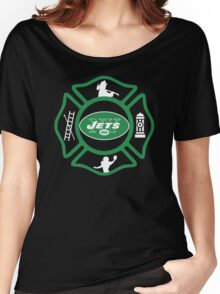 FDNY - Jets Style Women's Relaxed Fit T-Shirt