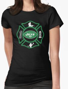 FDNY - Jets Style Womens Fitted T-Shirt