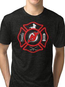 Newark Fire - Devils Style Tri-blend T-Shirt