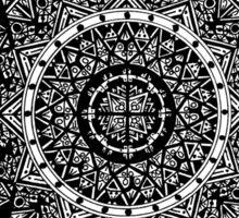 Black Mandala Sticker