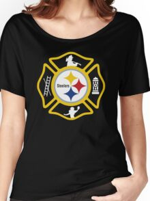Pittsburgh Fire - Steelers Style Women's Relaxed Fit T-Shirt