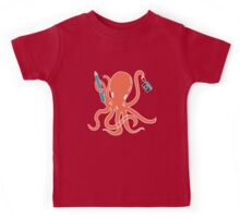 Squid of Creativity Kids Tee