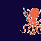 Squid of Creativity by Jo Alfie Wimborne