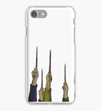 Wands Up iPhone Case/Skin