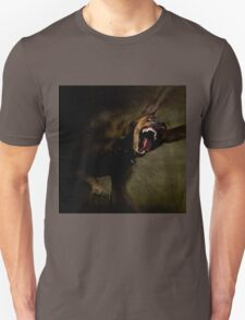 Dogs with game face on 666. Unisex T-Shirt