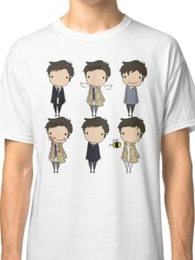 The Many Faces of Castiel Classic T-Shirt