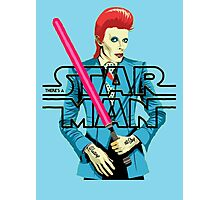 There's a Star Man Photographic Print