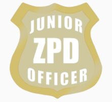 Junior ZPD Officer  Kids Tee