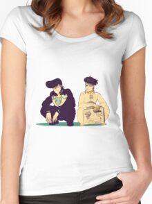 Josuke Rohan Women's Fitted Scoop T-Shirt