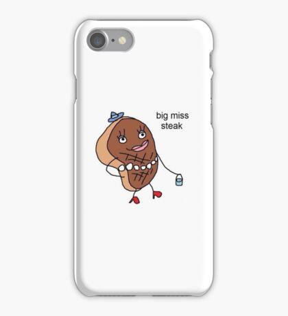 Big Miss Steak iPhone Case/Skin