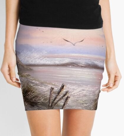 As The Sunsets Mini Skirt