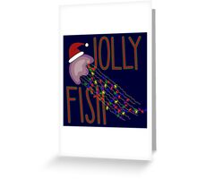 Jolly Fish Greeting Card