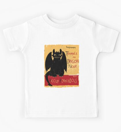 Le Dragon Noir Kids Tee
