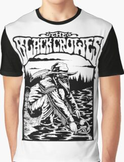 the black crowes gagak white 2016 Graphic T-Shirt