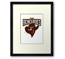 Team Renegade - CsGo Framed Print