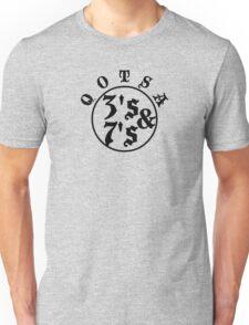 Qotsa 3s & 7s Baseball Shirt Design Unisex T-Shirt
