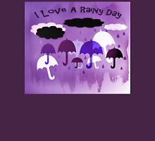 I Love A Rainy Day Womens Fitted T-Shirt