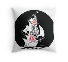 A Gathering of Shadows - One of a Damned Kind Throw Pillow