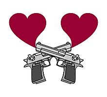 Love Guns! Photographic Print