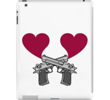 Love Guns! iPad Case/Skin