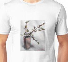 almond blossum in vase Unisex T-Shirt
