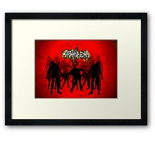 Brain Dead Zombies Framed Print