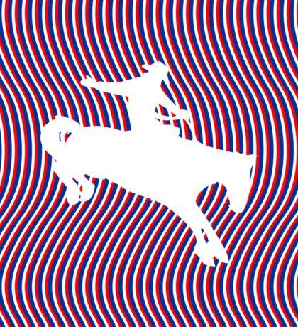 Psychedelic Cowboy Sticker