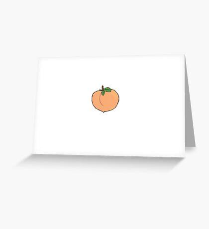 Sweet Peach Greeting Card