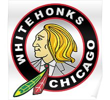 Chicago Whitehonks Poster