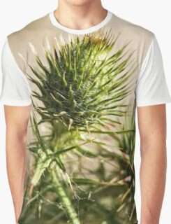 Green and Spikey (2) Graphic T-Shirt