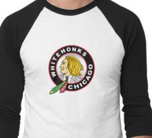 Chicago Whitehonks Men's Baseball ¾ T-Shirt