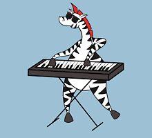 Zebra Keyboard Unisex T-Shirt