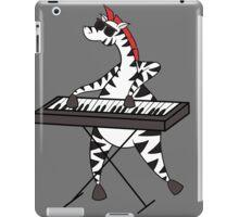 Zebra Keyboard iPad Case/Skin