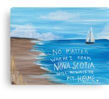Nova Scotia Sailboat  Canvas Print