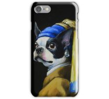 With a Pearl Earring iPhone Case/Skin