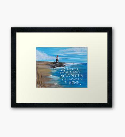 Nova Scotia Lighthouse Framed Print