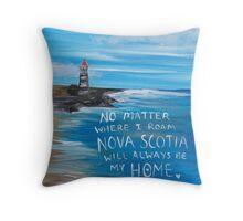 Nova Scotia Lighthouse Throw Pillow