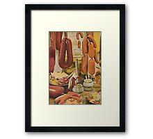 Sausage Savior  Framed Print