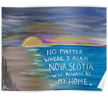 Nova Scotia Sunset Poster