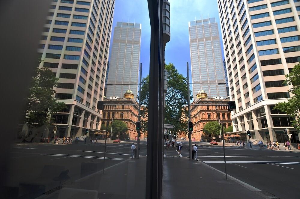 Bridge Street Reflections, Sydney, Australia 2013 by muz2142
