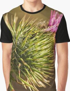 Green and Spikey (3) Graphic T-Shirt