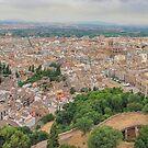 Granada - City of My Dreams - from Torre de la Vela by TonyCrehan